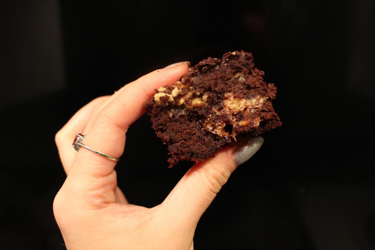 Peanut Butter Brownie Bites - Vegan Recipe!