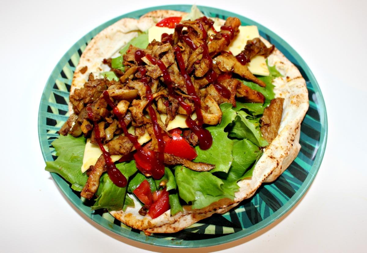 Veggie Shawarma Kebab - Vegan Recipe!