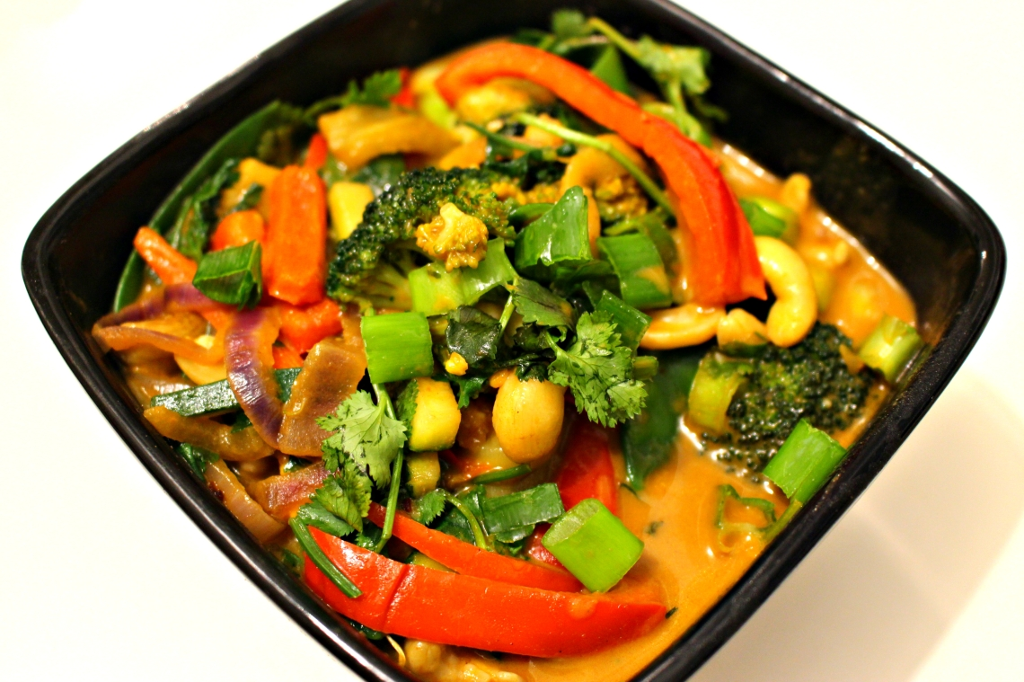 Creamy Red Curry