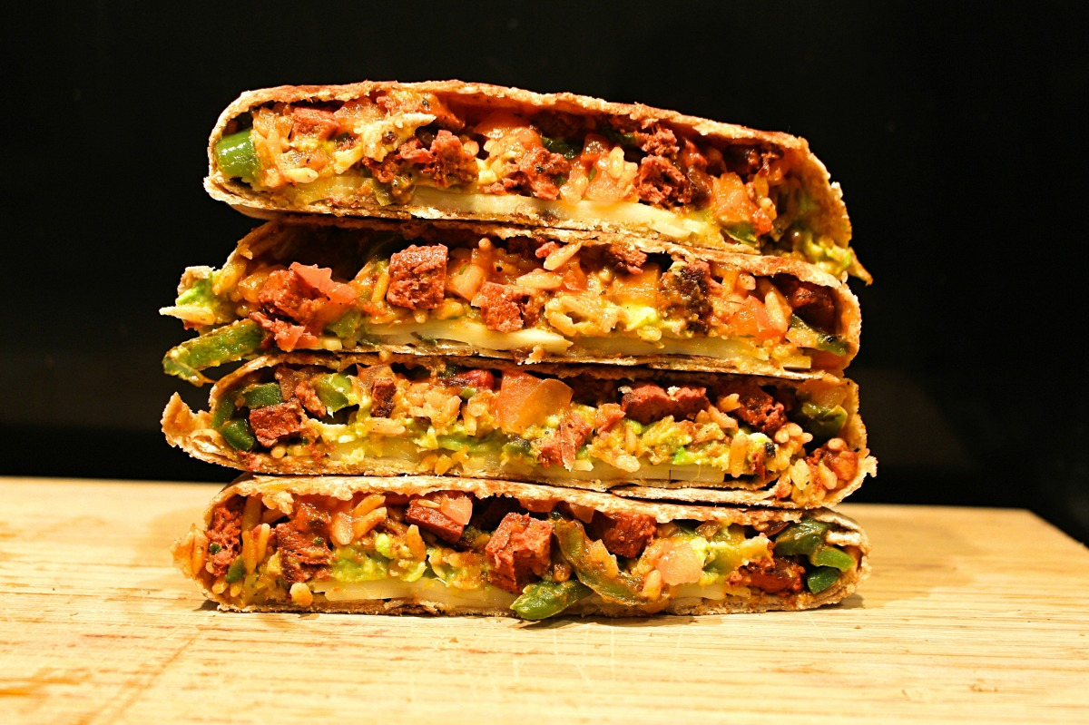 Mexican Chorizo & Cheese Melt- Vegan Recipe!
