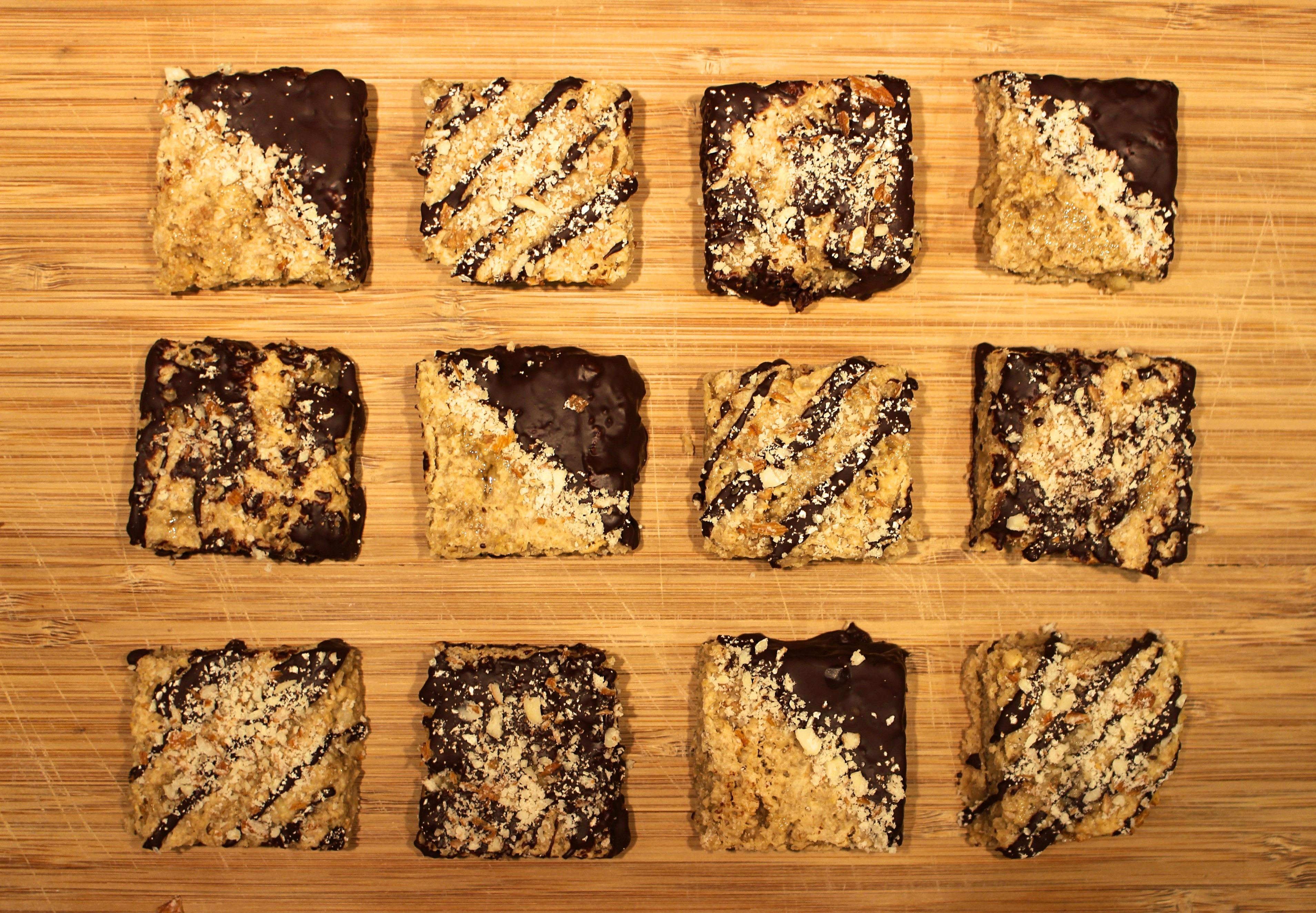 peanut butter flapjack vegan recipe