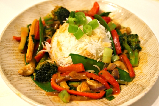 Red Curry and Rice