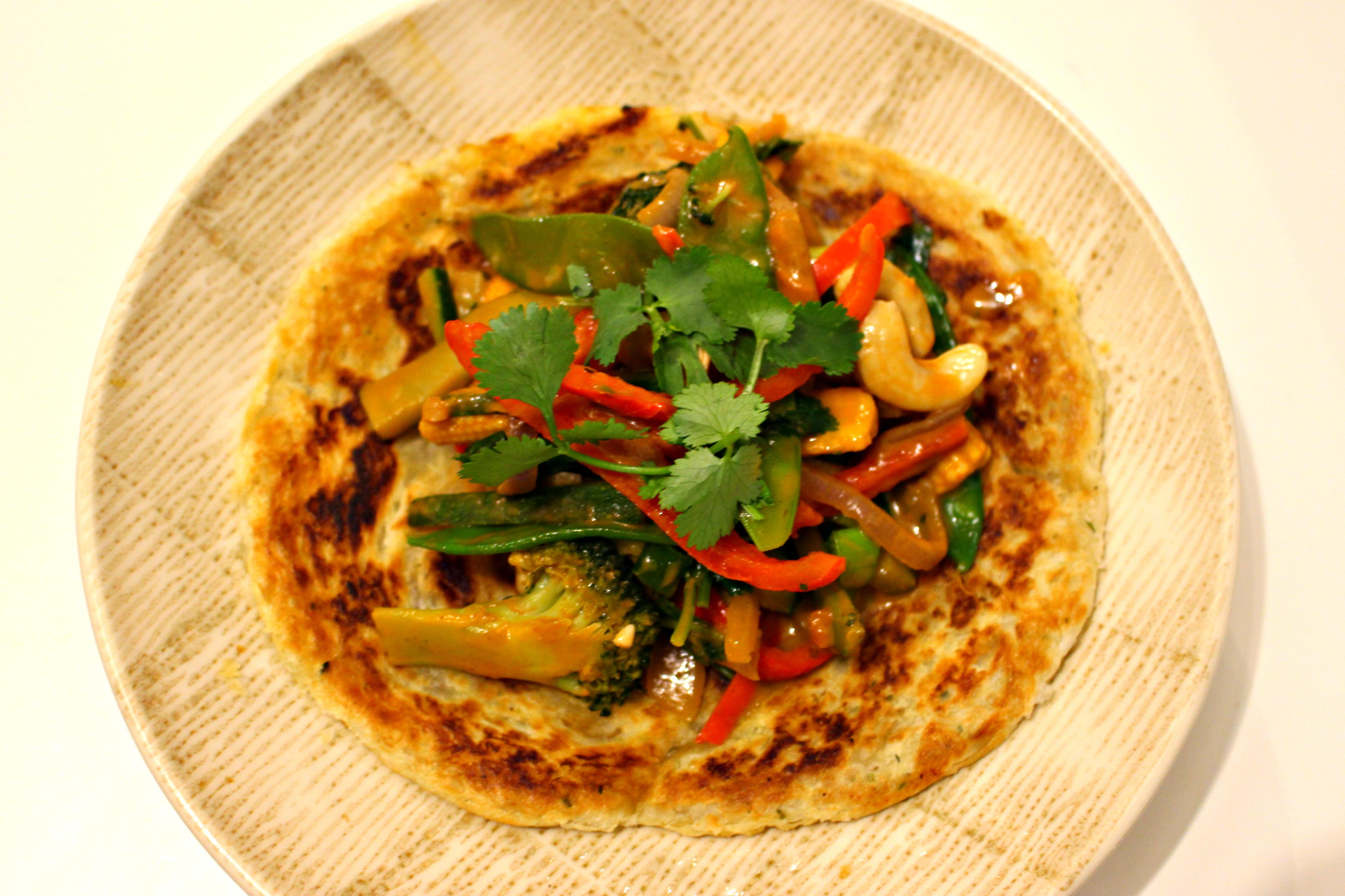 Thai Red Curry & Roti