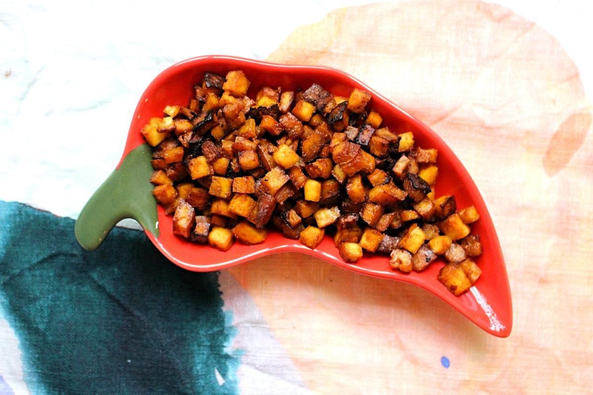 Crunchy Bacon Bits!