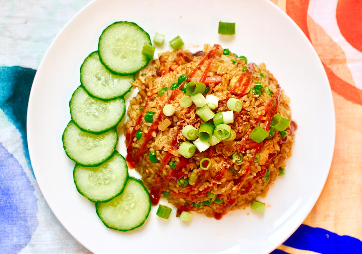 Rendang Chicken Fried Rice